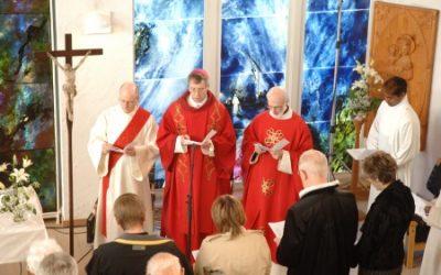 Celebrating Bishop Kozon´s 25th. anniversary