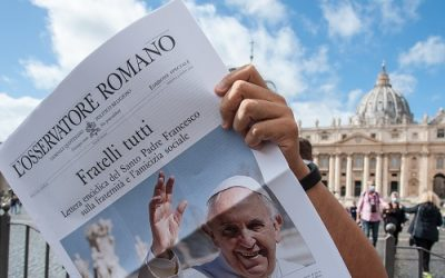 Pope Francis signs new encyclical: Fratelli tutti""