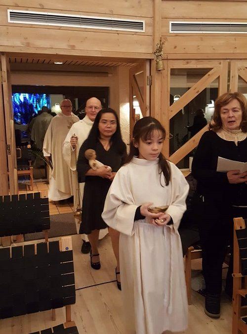 Midnight Mass from Mariukirkjan